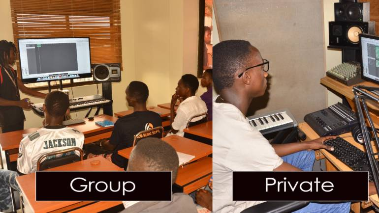 Differences between Group Lessons and Private Lessons